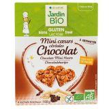 Mini cereale cu ciocolata (fara gluten) 4x25g JardinBio
