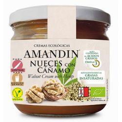 Crema Eco de nuci cu canepa x 330g Amandin