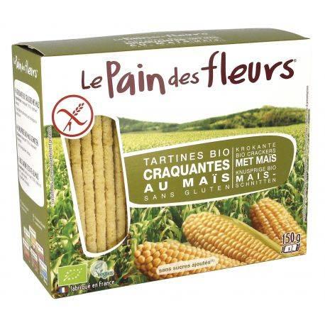 Le pain des fleurs Tartine crocante cu porumb x 150g