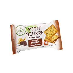 Biscuiti Petit Beurre cu pepite de ciocolata pachet x 28g Bisson