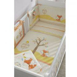 Tutti Bambini – Set lenjerie 7 piese Woodland Walk Bedding