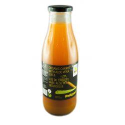 Suc Eco de morcovi si aloe vera x 750ml Delizum