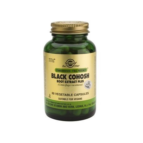 Black Cohosh Root Extract Plus x 60cps Solgar