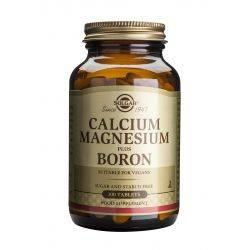 Calcium Magnesium plus Boron x 100 tb. Solgar