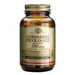 Chromium Picolinate 200ug x 90 veg caps Solgar
