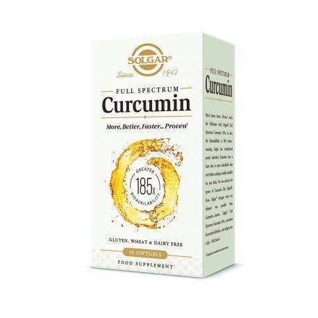 Curcumin Full Spectrum x 30 cps moi Solgar