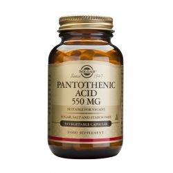 Acid Pantothenic 550mg x 50 capsule vegetale Solgar