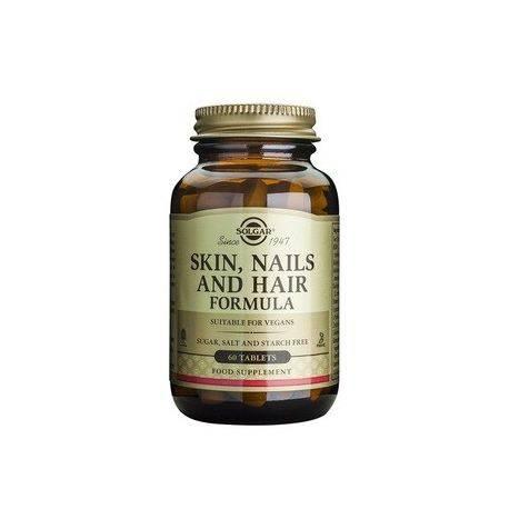Formula pentru piele, unghii si par x 60 tablete Solgar