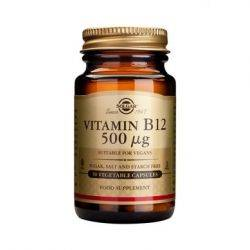 Vitamin B-12 500g x 50cps Solgar