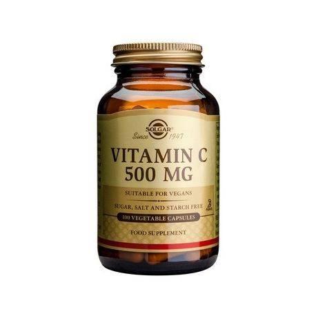 Vitamin C 500mg x 100cps Solgar