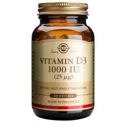 Vitamin D3 1000ui x 100 caps. Solgar