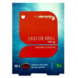 Krill Omega 3 500mg 30cps MyElements
