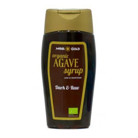 Sirop de Agave Dark&Raw Ecologic/BIO 350g/250ml Maya Gold