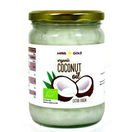 Ulei de Cocos Extravirgin Ecologic/BIO 450g/565ml Maya Gold