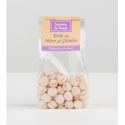 Perle cu miere si ghimbir x 100g Apidava