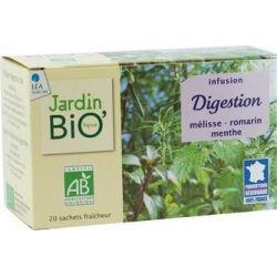 Ceai din plante: Digestie (20 plicuri) 30g JardinBio
