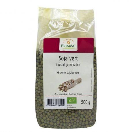Soia verde (fasole Mung) x 500g Primeal