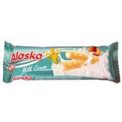 Pufuleti de porumb umpluti cu crema de lapte fara gluten x 18g Alaska