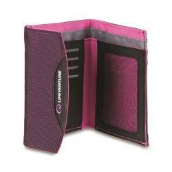 Portofel Compact cu Protectie RFID pentru Carduri Bancare Mov