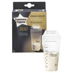 Pungi de stocare lapte matern Closer to Nature, Tommee Tippee, 36 buc