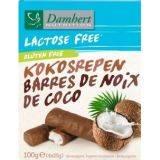 Batoane de cocos cu ciocolata fara gluten x 100g (4x25g) Damhert