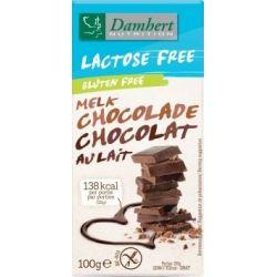 Ciocolata fara gluten cu lapte x 100g Damhert