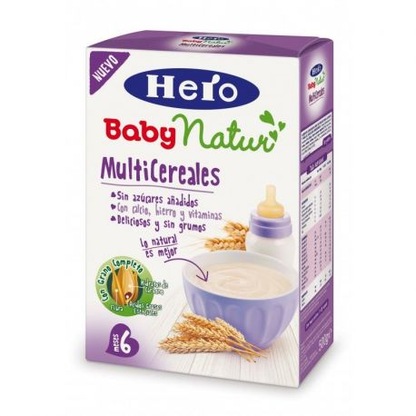 Hero Baby Natur Multicereale fara lapte 6+, x 500g