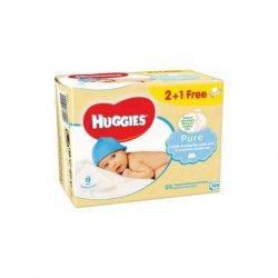 Huggies pure Trio 56X3 buc