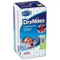 Huggies Dry Nites baieti 4-7 ani x 10 buc