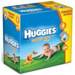 Huggies Super Dry 3 (4-9 KG) x 129buc