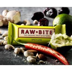 RawBite Baton cu lime x 50g