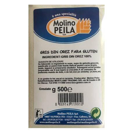 Gris de orez fara gluten x 500g Molino Peila