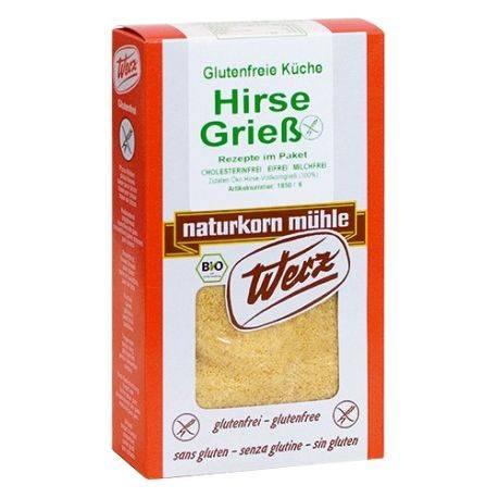 Gris de mei fara gluten x 250g Werz