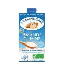 Crema de migdale pentru gatit x 250ml La Mandorle