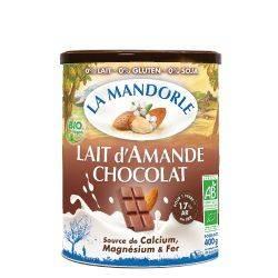 Lapte praf de migdale cu ciocolata x 400g La Mandorle