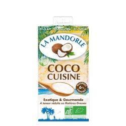 Crema de cocos pentru gatit x 250ml La Mandorle