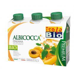 Bautura bio premium de piersici 3 x 200ml Isola Bio
