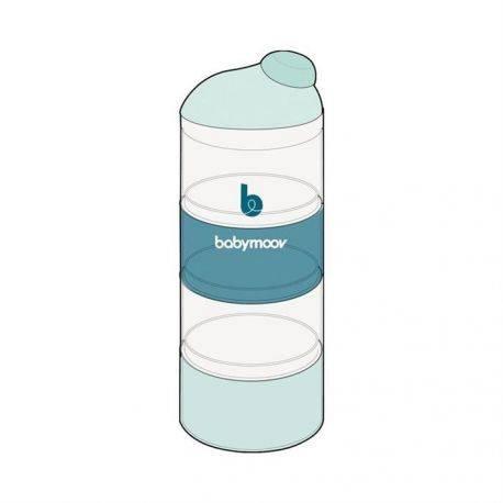 Dozator lapte praf, Artic Blue - Babymoov