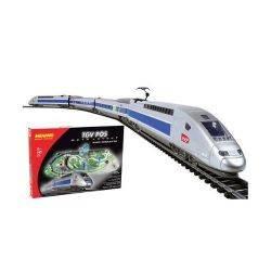 Trenulet Electric de Mare Viteza TGV POS cu Macheta Mehano