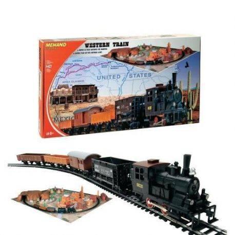 Trenulet Electric Western cu Diorama Mehano