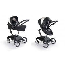 Carucior 2in1 Xari Black and White, Editie Speciala - Mima