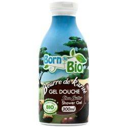 Gel de dus bio, unt de Shea x 300ml Born to Bio