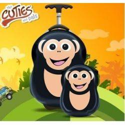 Ghiozdan si valiza copii Cheeki de Chimp - Cuties & Pals