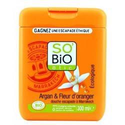 Gel de dus argan si flori de portocal 300ml So Bio Etic