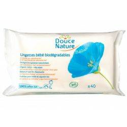 DouceNature Cotton Servetele biodegradabile pt bebelusi x 210g