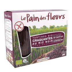 Turte crocante din orez negru fara gluten x 150g Le Pain des Fleurs