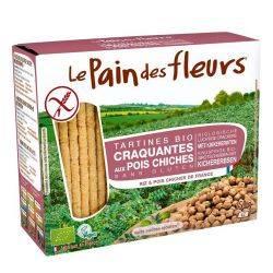 Turte crocante cu naut fara gluten x 150g Le Pain des Fleur