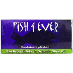 Anchoa in ulei de masline extravirgin bio x 48g Fish4ever