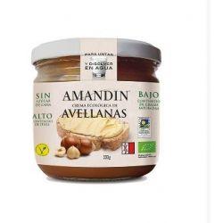 Crema de alune cu cacao bio x 330g Amandin