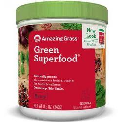 Green Superfood Acai si Goji x 30portii (240g) Green Superfood Original x 240g Amazing Grass